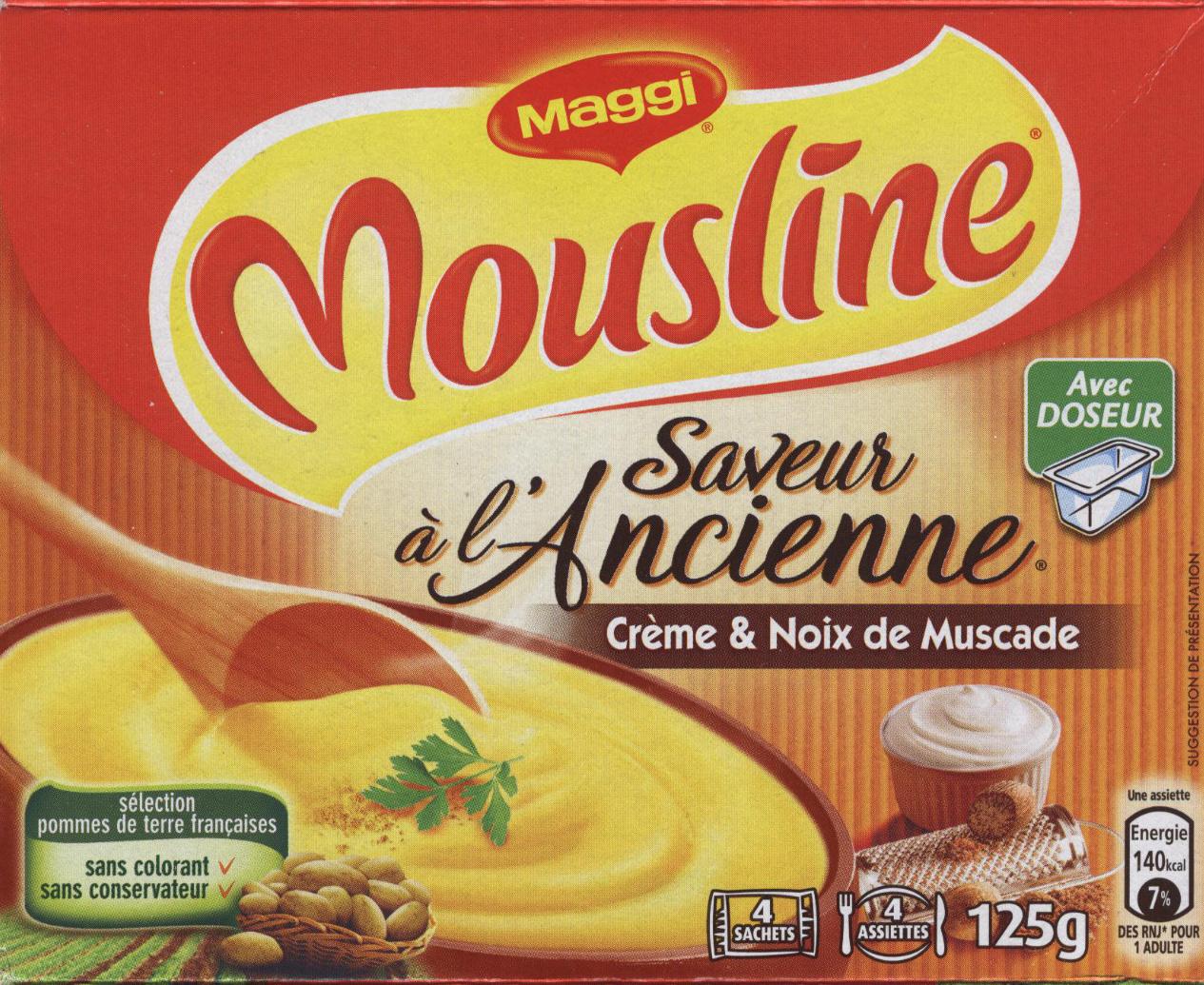 Mousline saveur à l'ancienne - Product - fr