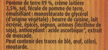 Mousline saveur à l'ancienne - Ingredients - fr