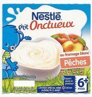 P'tit onctueux au fromage blanc pêches - Prodotto - fr