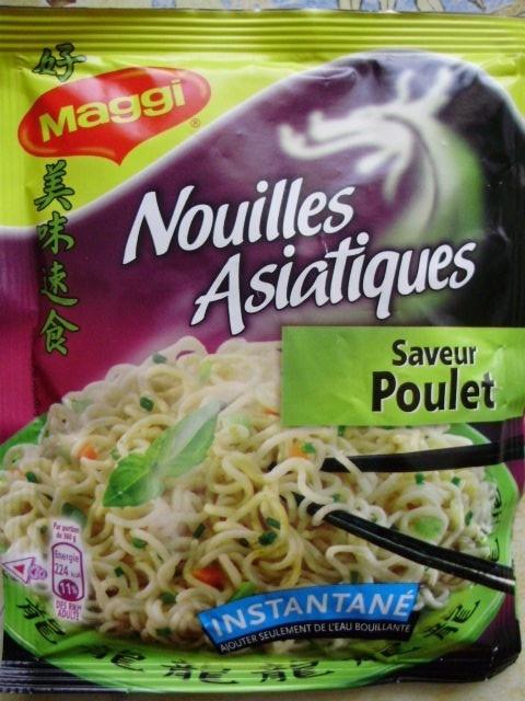 Nouilles Asiatiques Saveur Poulet - 60 g - Maggi - Product