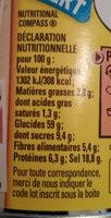 Fond Pour Rôtis - Nutrition facts