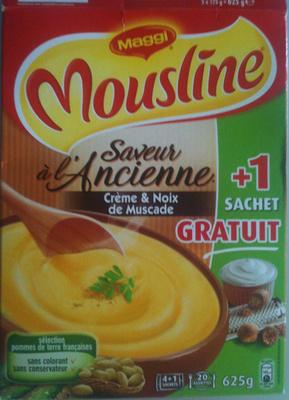 Mousline - Saveur à l'Ancienne - Crème & Noix de Muscade - Product - fr