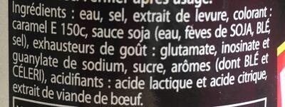 viandox - Ingredients