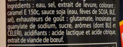 Knorr Assaisonnement Liquide Viandox 160ml - Ingredients - fr