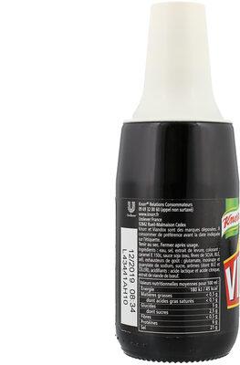 Knorr Assaisonnement Liquide Viandox 160ml - Informations nutritionnelles - fr