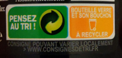 Knorr Assaisonnement Liquide Viandox 160ml - Recycling instructions and/or packaging information - fr