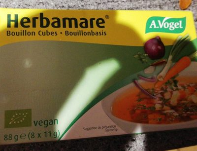 Herbamare bouillon cubes - Product - fr