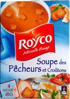 Soupe des pêcheurs et croûtons - Product