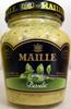 Moutarde au vin blanc au basilic Maille - Product