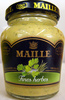 Moutarde au vin blanc aux fines herbes Maille - Product