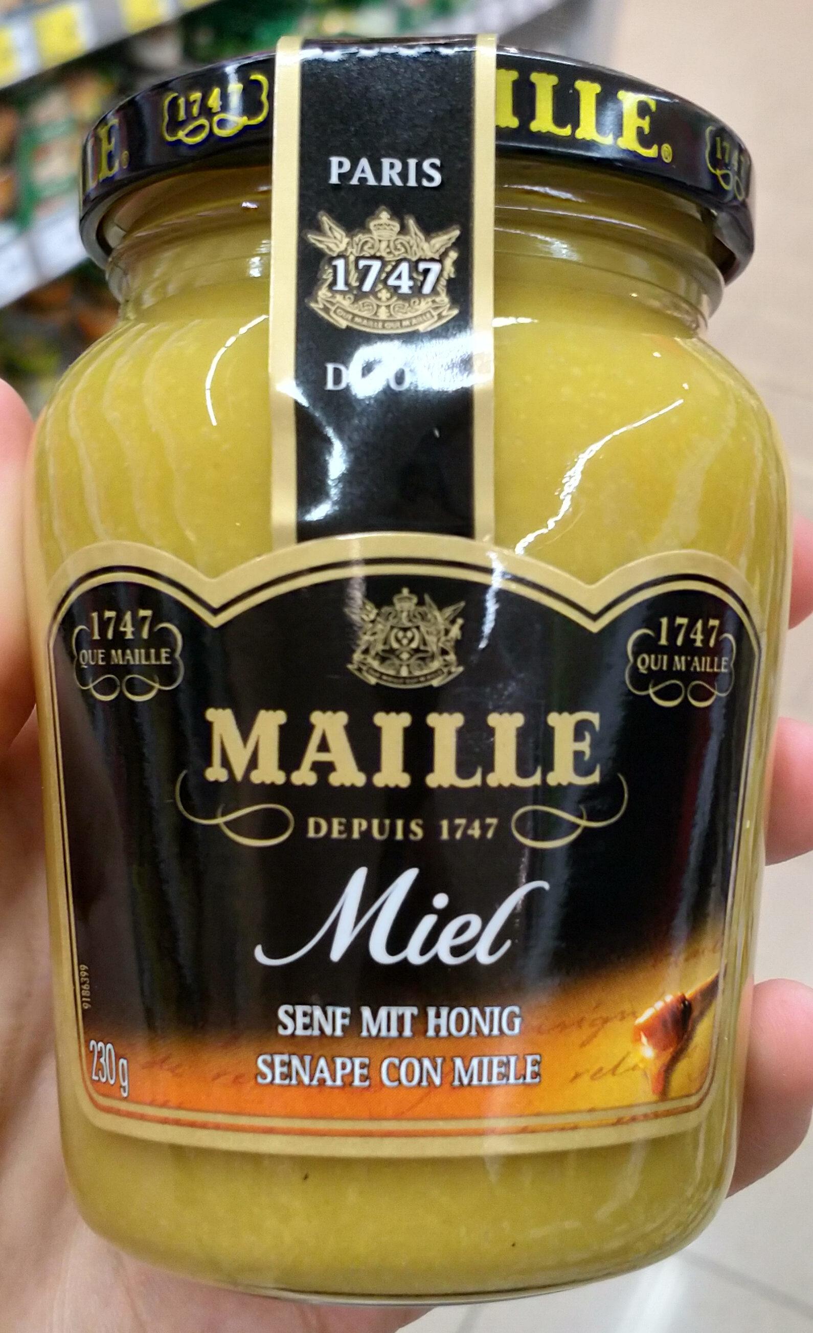 Senape con miele - Produkt - de