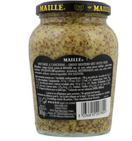 Maille Moutarde à l'Ancienne Bocal 380g - حقائق غذائية - fr