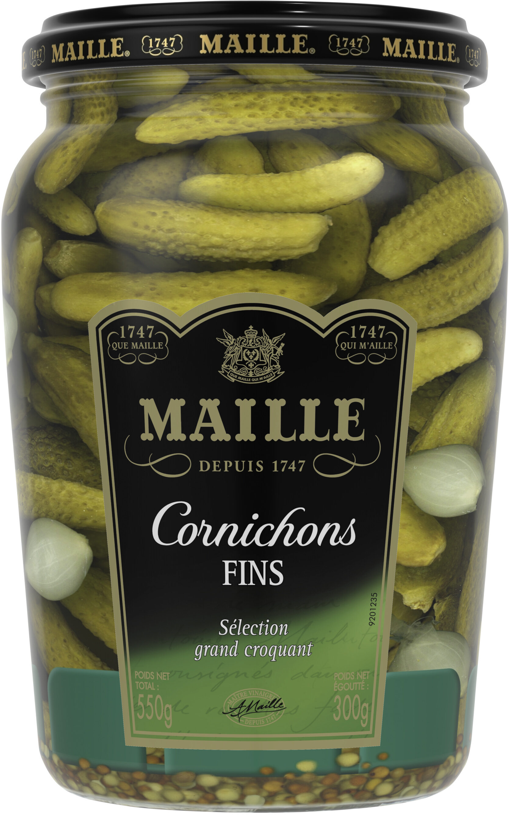 Maille Cornichons Fins Bocal - Product - fr