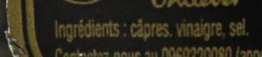 Maille Capres Surfines 85g - Ingrédients - fr