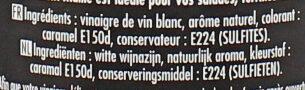 Maille Vinaigre de Vin Blanc Aromatisé Noix - Ingredients - fr