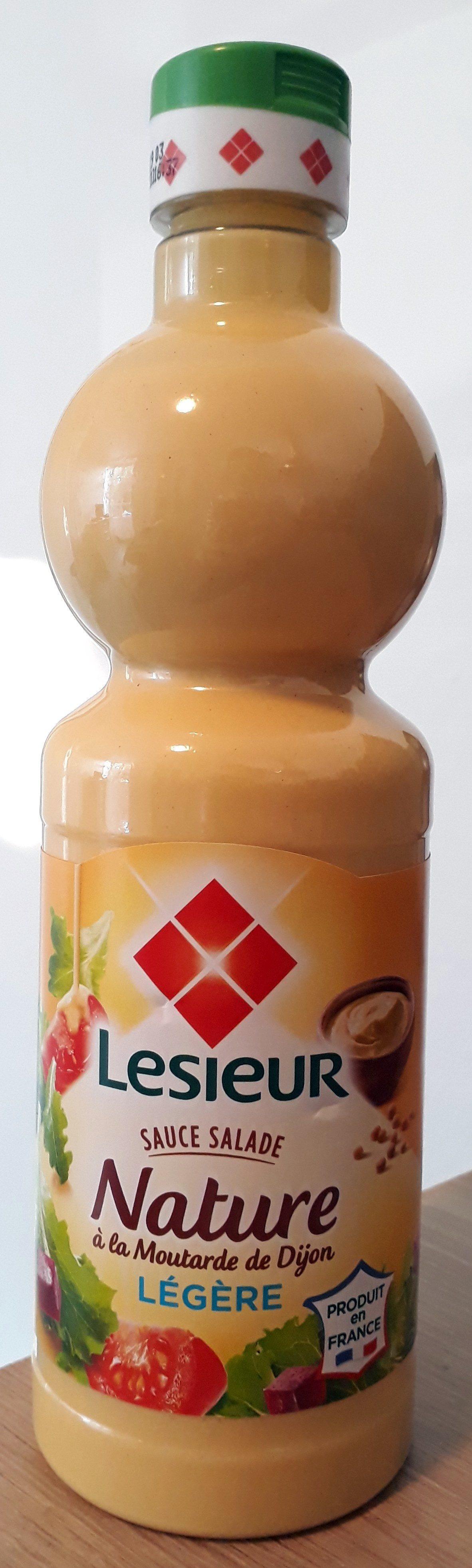 Sauce salade nature à la moutarde de Dijon légère - Produit - fr