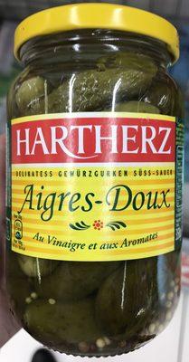 Cornichons Aigres-Doux au vinaigre et aux aromates - Produit - fr