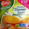 Pur Soup' - Mouliné de 7 légumes variés - Produit