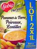 Pommes de Terre, Poireaux, Lentilles (lot de 2 x 1 L) - Product