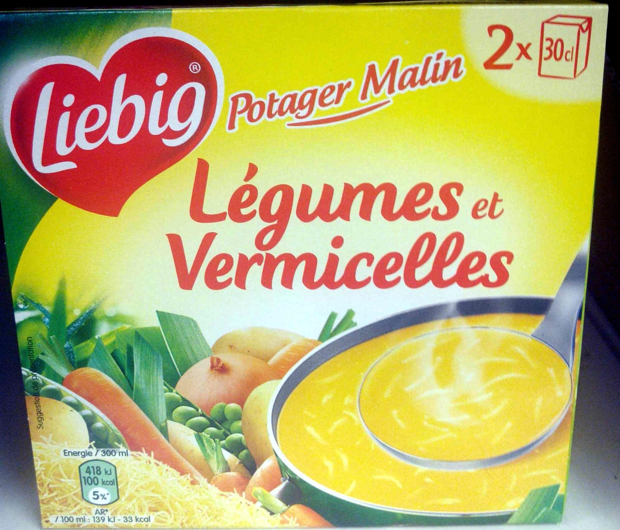 Légumes et vermicelles - Product - fr