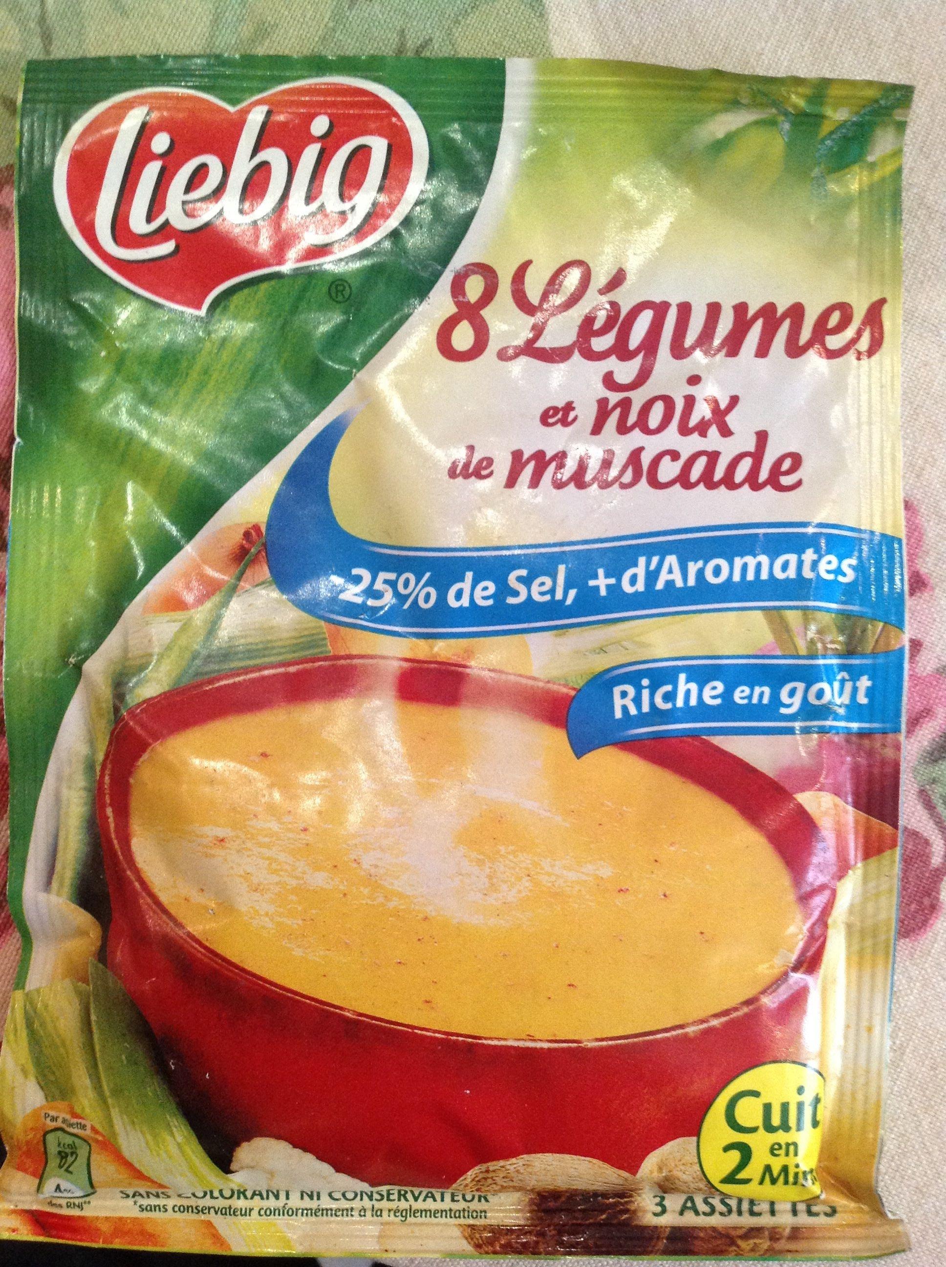 Huit Légumes et Noix de Muscade - Produit - fr
