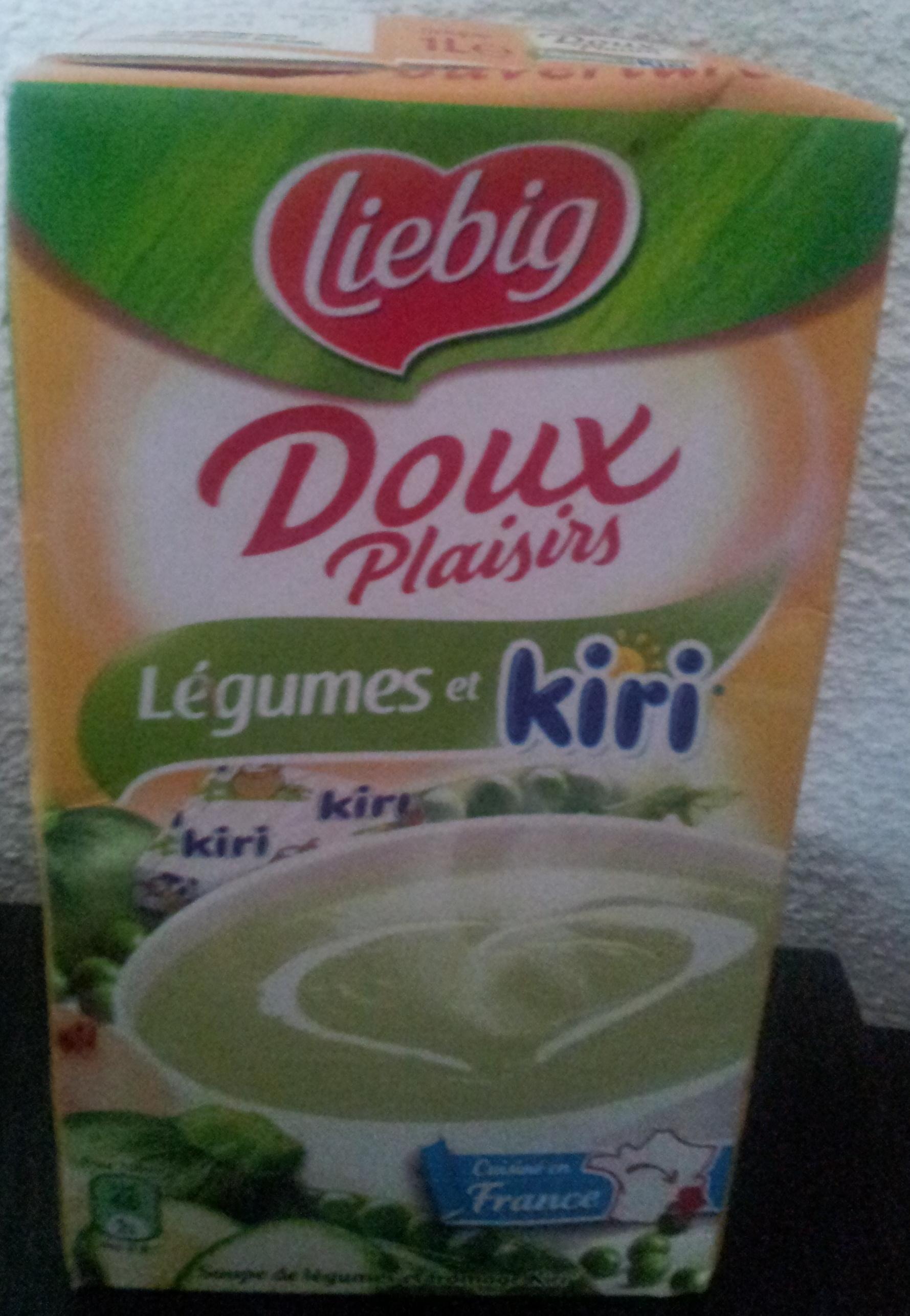 Doux plaisirs - Légumes et kiri - Produit - fr
