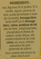 Doux Plaisir Potiron et Kiri - Ingrediënten - fr