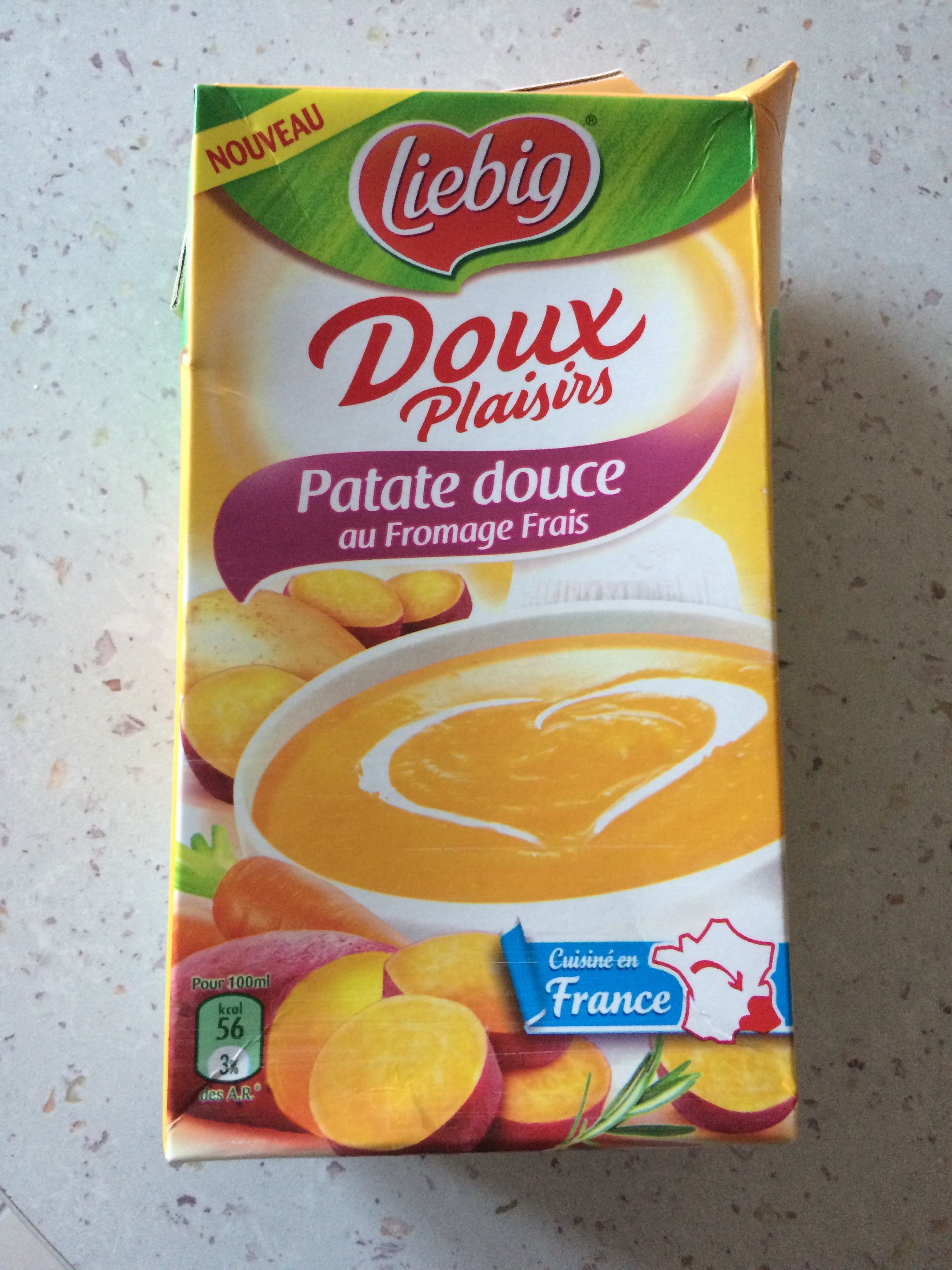 Patate douce au fromage frais - Product