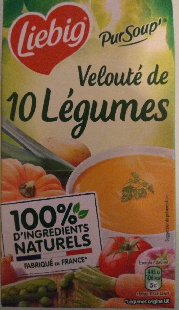 PurSoup' Velouté de 10 légumes - Prodotto - fr
