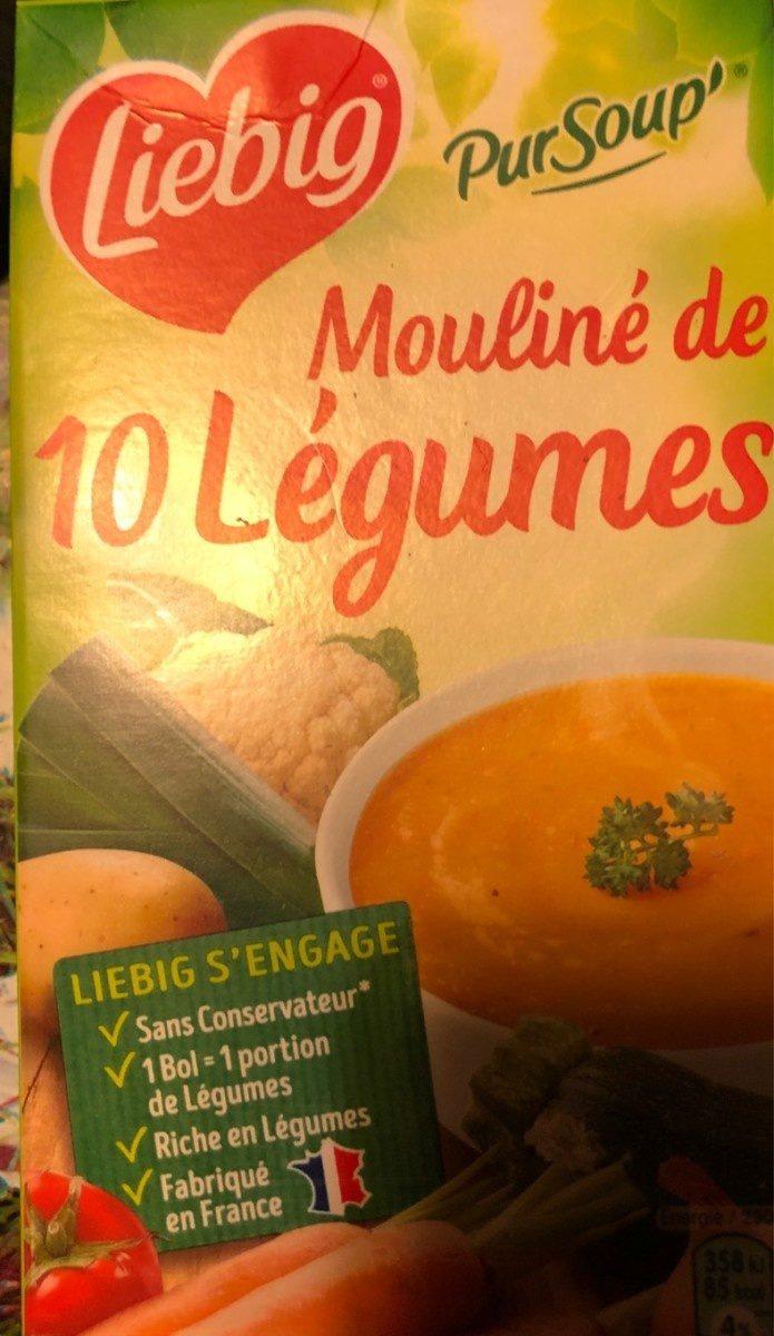 Mouliné de 10 légumes - Product