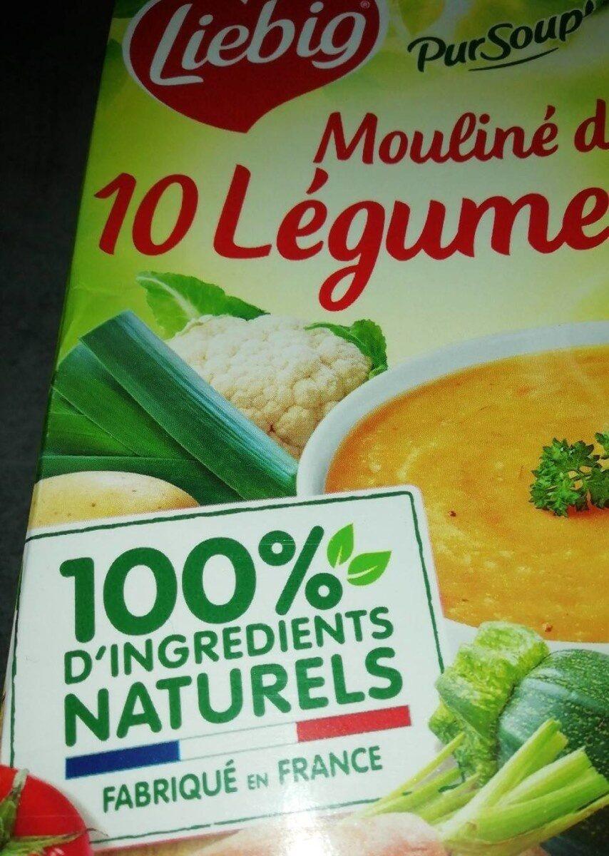 Mouliné de 10 légumes - Product - fr