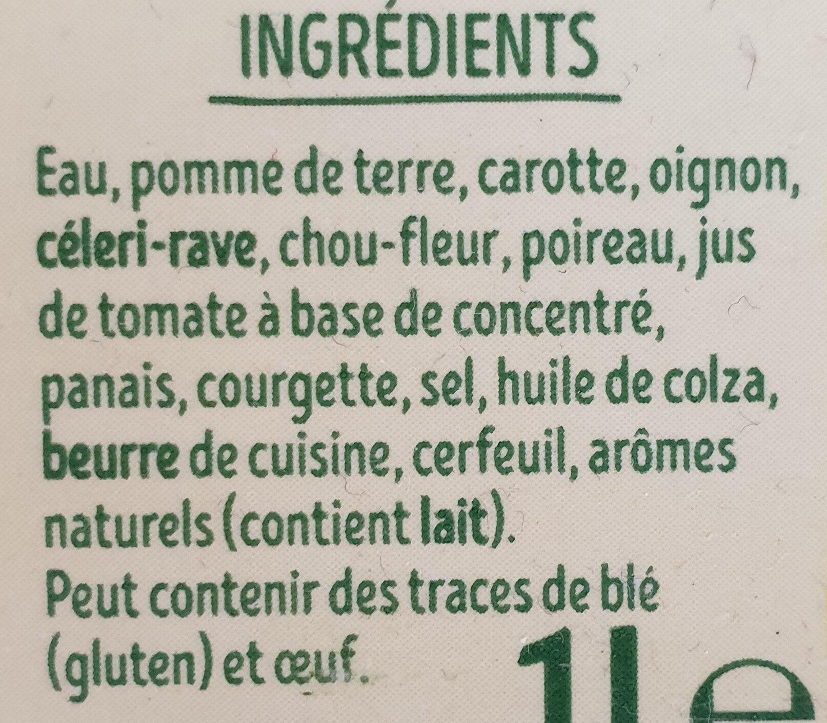 Mouliné de 10 légumes - Ingredienti - fr