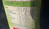 Mouliné de 10 légumes - Voedingswaarden - fr
