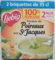 Fondue de Poireaux aux St Jacques - Product