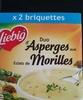 Duo d'Asperges aux Éclats de Morilles - Produit