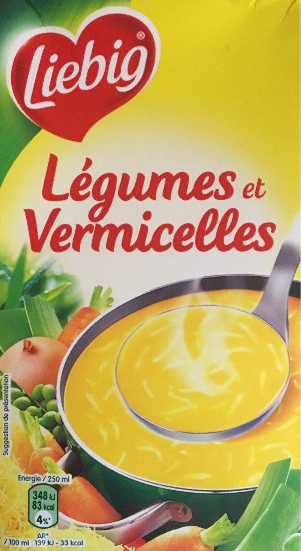 Légumes et Vermicelles - Produit - fr