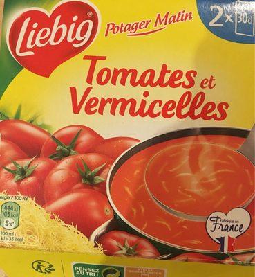 Soupe Tomates et Vermicelles - Produit - fr