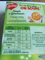 Soupe Oseille Cresson - Nutrition facts