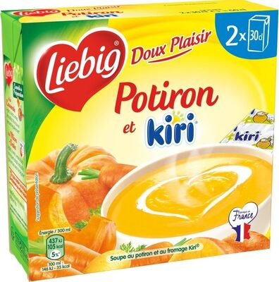 Doux Plaisir Potiron et Kiri - Produit - fr