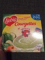 Soupe courgettes au fromage La Vache qui rit - Produit - fr