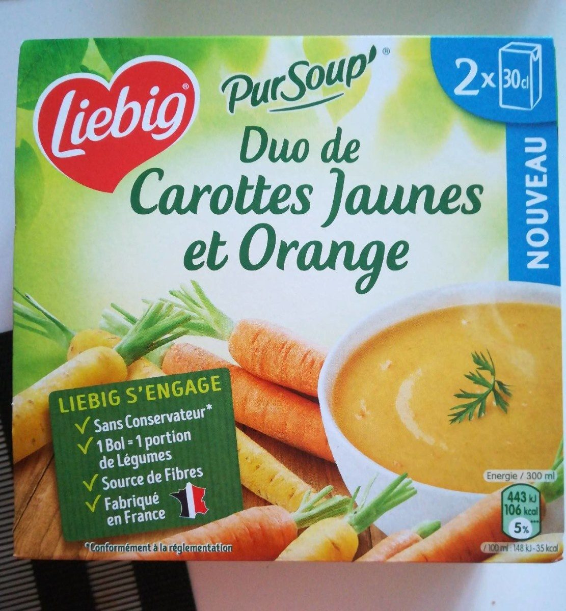 Duo de Carottes Jaunes et Orange - Product