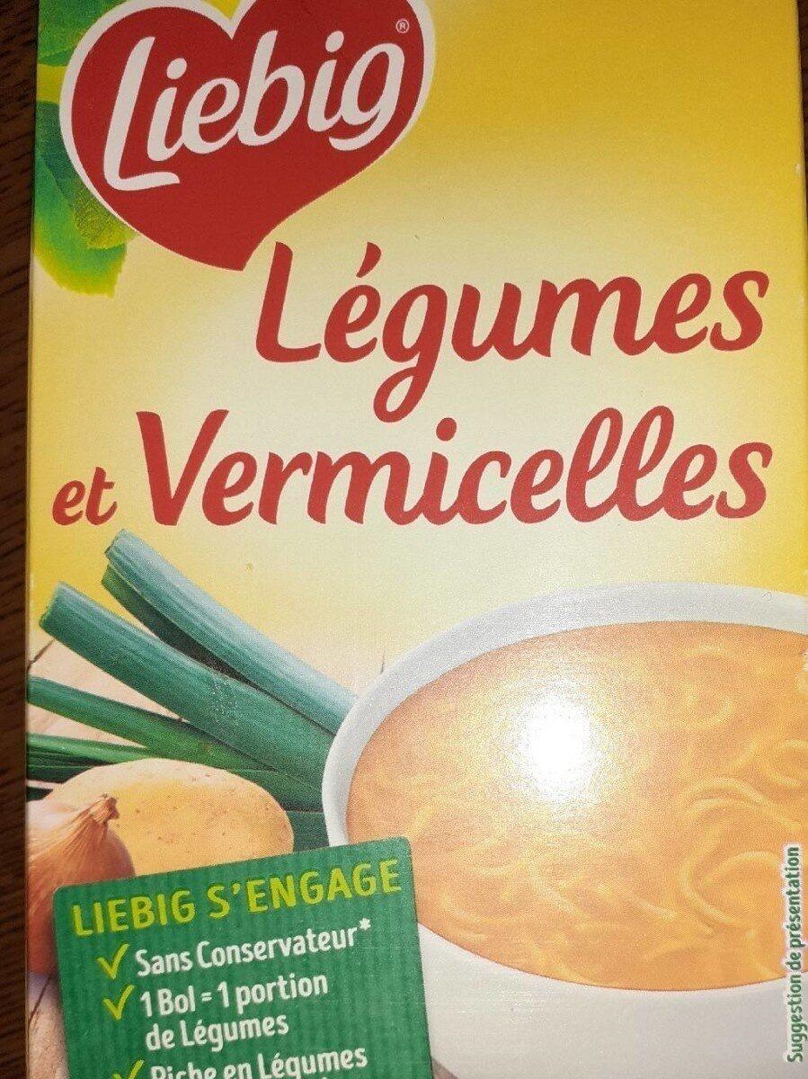 Soupe légumes et vermicelles - Produit - fr