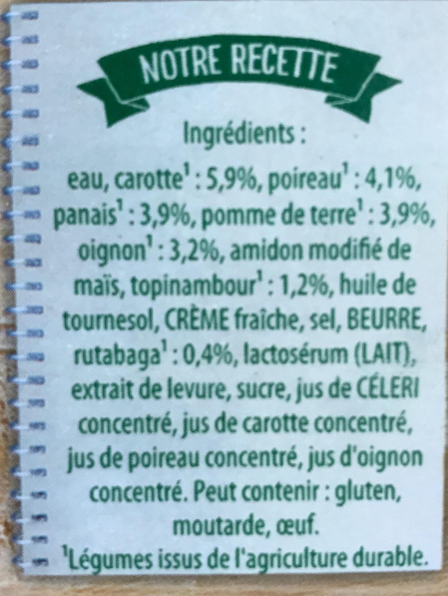 Potiron, Carottes et Vermicelles - Ingredients
