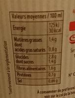 Velouté 5 Légumes - Nutrition facts