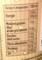 Velouté 5 légumes - Voedingswaarden - fr