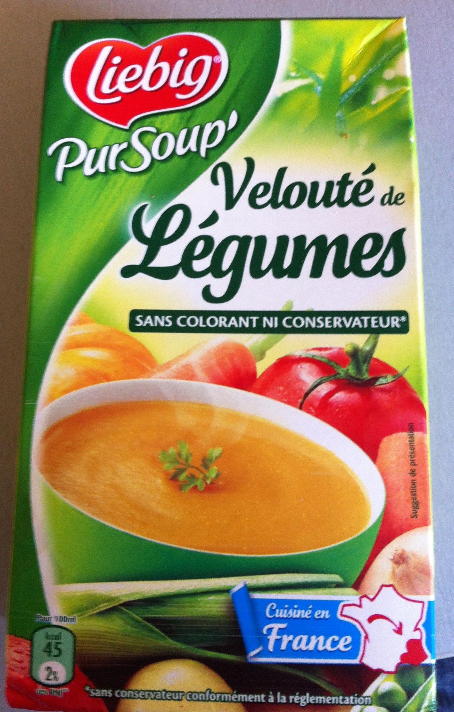 Pur Soup' Velouté de légumes - Product