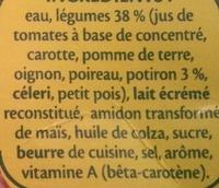 Pur Soup' Velouté de légumes - Ingrediënten