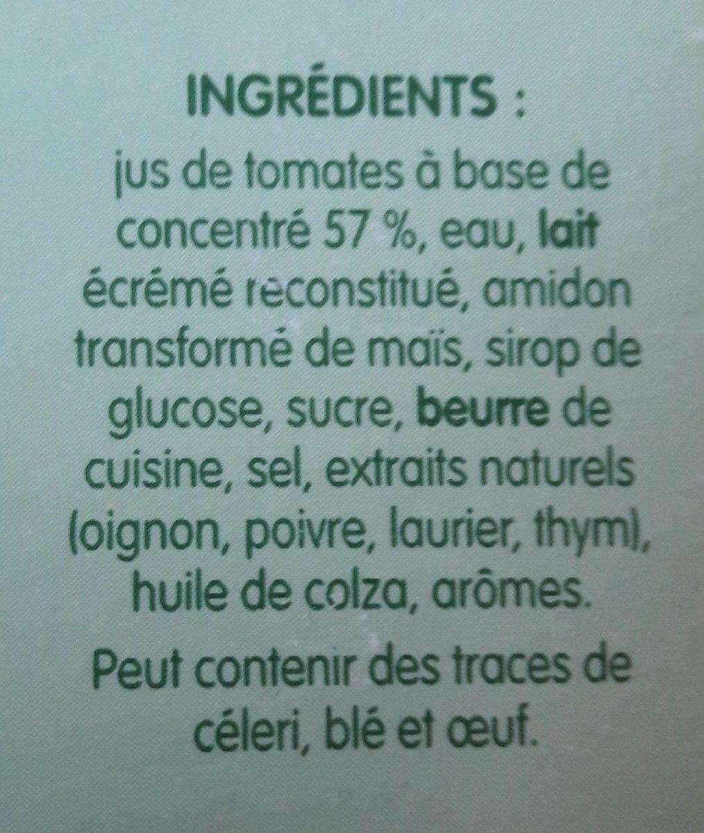 Velouté de tomates - Ingrediënten