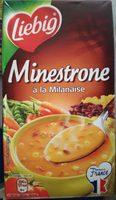 Minestrone à la Milanaise - Ingrediënten - fr