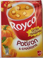 Potiron & croûtons - Product
